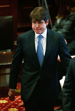 rod blagojevich obama. Rod Blagojevich arrives to