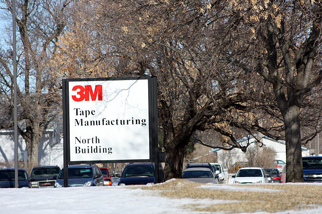 3M is the second largest employer in Hutchinson with about 1400 employees. The Hutchinson site is also 3M's largest North American manufacturing plant.
