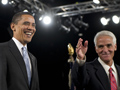 Florida Gov. Charlie Crist intros Obama