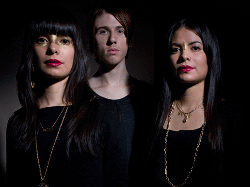 The members of School of Seven Bells