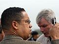 U.S. Democratic Congressmen Keith Ellison in Gaza
