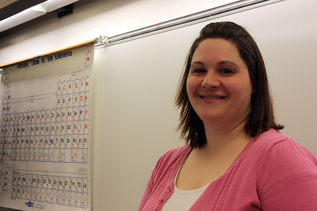 "Becky Krystyniak, a chemistry professor at St. Cloud State University, spearheaded the ""learning assistant model"" at SCSU's chemistry department where students, usually upperclassmen, help the professors teach class material through one-on-one instruction or in groups. This model has been successful at the University of Colorado in Boulder."