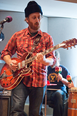 As the guitarist and vocalist from the Akron, Ohio duo the Black Keys, Dan Auerbach discussed with host Steve Seel why he decided to do a solo record.