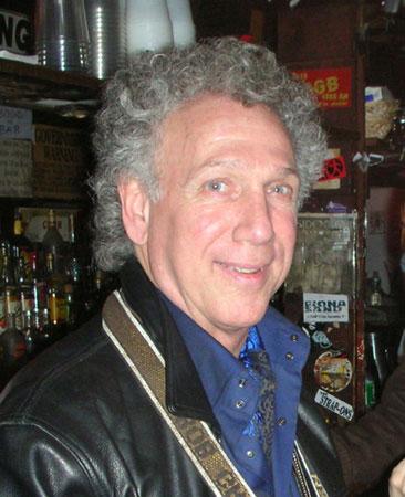 Photographer Bob Gruen at CBGBs