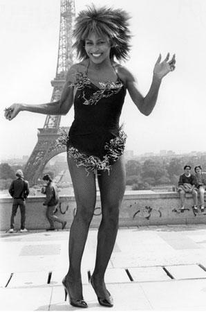 "Tina Turner ""Paris Eiffel Tower"""