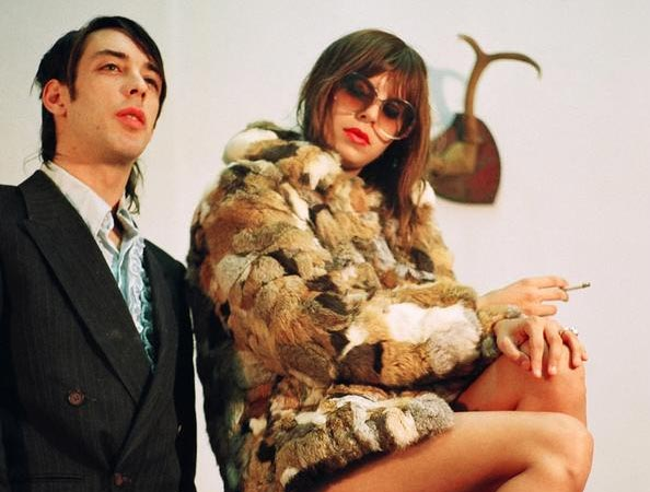 Dan Boeckner and Alexei Perry as Handsome Furs