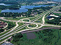 The current 169/I-494 interchange