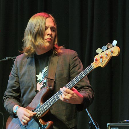 Bassist Mike Lewis is also involved in the Twin Cities' band Happy Apple