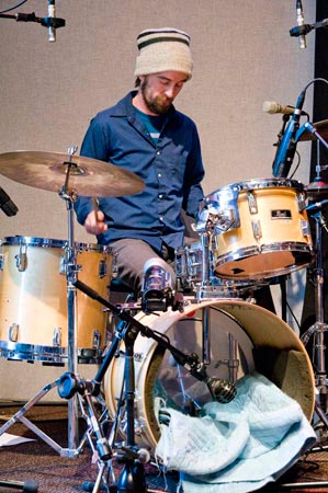 Minneapolis-based Martin Dosh has a successful solo career when he's not touring or recording with Andrew Bird