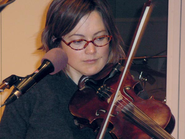 Sara Watkins, one of the founding members of Nickel Creek, performing tracks from her self-titled solo release