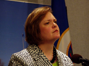 House Speaker Margaret Anderson Kelliher, DFL-Minneapolis, is running for governor in 2010.