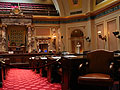 The Minnesote Senate chambers