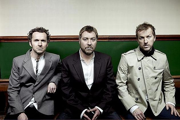 Andy Williams, Jimi Goodwin and Jez Williams of the band Doves