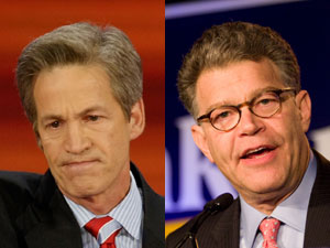 The close race between Norm Coleman and Al Franken went to a recount that lasted well in to the following year until Al Franken was finally declared the winner on June 30, 2009.