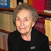 Economist Anna Schwartz