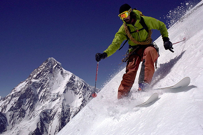 Dave Watson of St. Louis Park plans to be the first person to ski down K2, the world's second-highest peak after Mount Everest.