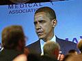 Obama at the AMA
