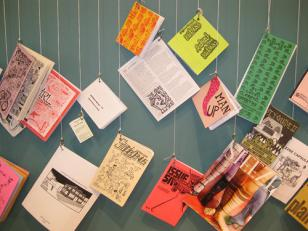 Zines from the ongoing Independent Variables: Contemporary Zine Publications at the Minnesota Center for Book Arts.