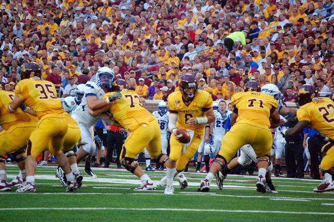 U Mn Gopher Football Score Gophers  Minnesota Public