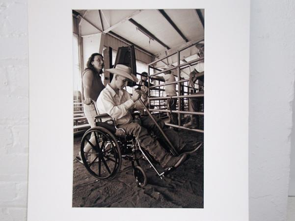 A photo print that a patient traded to Dr. Sam Willis in exchange for medical care.