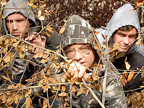 The Austin, Texas indie-rock trio White Denim