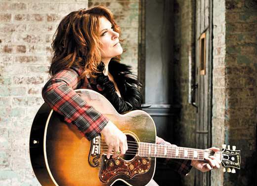 Singer Rosanne Cash.