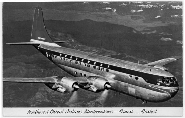 The Boeing B-377 Straotcruiser.