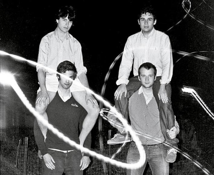 Wordly NYC indie-poppers Vampire Weekend.