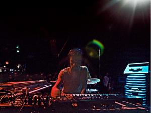 Minneapolis instrumental hip-hop/electronic maestro Dosh performing at the Triple Rock Social Club.
