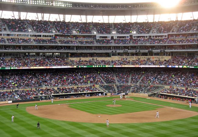 target field twins. Twins at Target Field on