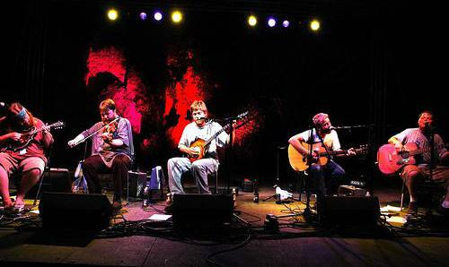 Duluth-based Trampled by Turtles at an undated performance.