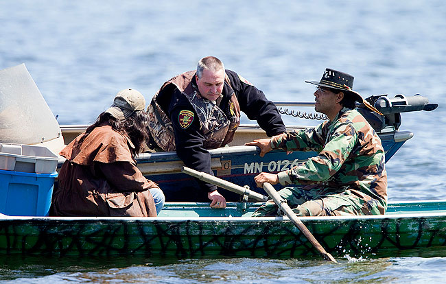 Tribal members say treaty rights protest a success for Minnesota fishing license age