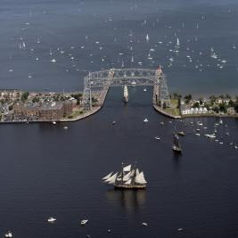 Duluth prepares for its Tall Ships to come in