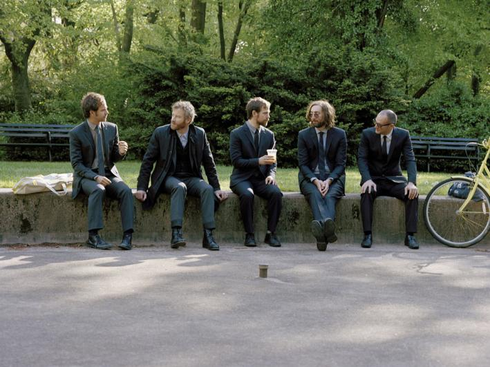 Brooklyn-via-Ohio indie-rockers The National.