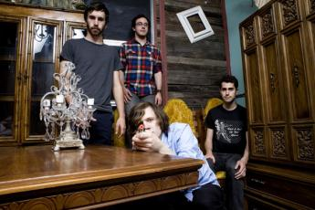 Canadian indie-rock quartet Tokyo Police Club