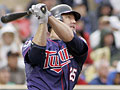 Jim Thome homers for Twins