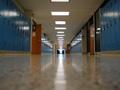 Empty school in Brooklyn Center