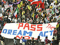 Supporters of Dream Act