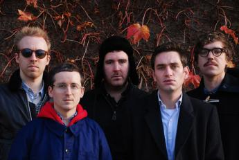 British indie-electro band Hot Chip.