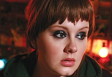 22-year-old British songstress Adele.