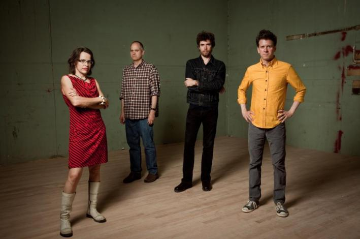 Legendary indie-pop stalwarts and Merge Records founders Superchunk.