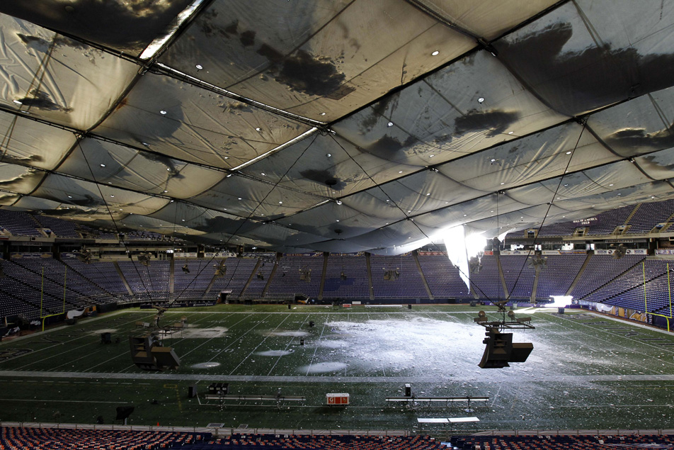 Roof Collapse May Speed Process For New Vikings Stadium