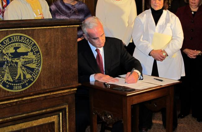 governor mark dayton. Photo: #Gov. Mark Dayton signs