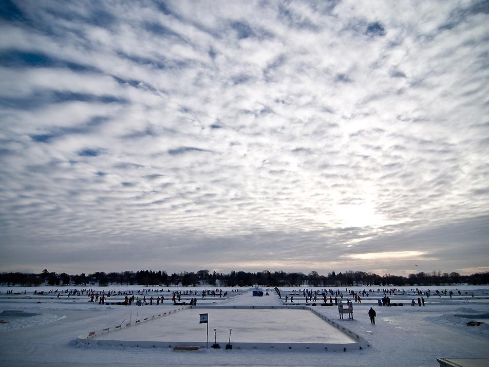 U.S. Pond Hockey Championships, Lake Nokomis, Minneapolis, MN