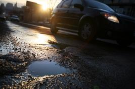 Pothole season: Less bone-jarring than 2012