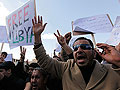 Libyan protesters