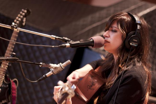 Nicole Atkins performs in-studio at The Current