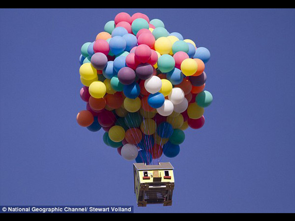 pixar up house. The Up! house which will be
