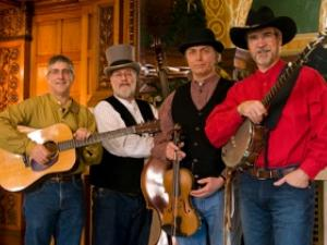 Local old-time and bluegrass quartet, The Eelpout Stringers