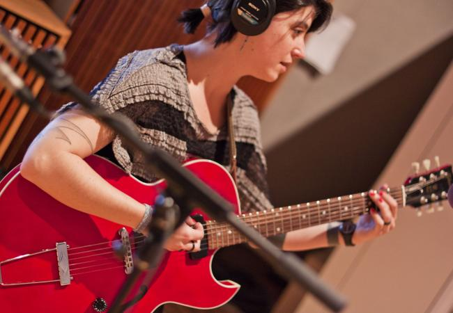 Brooklyn-based indie newcomer Sharon Van Etten.